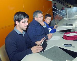 Filipe Clemente, Rui Mendes e Rodrigo Mendes. FOTO DB/CARLOS JORGE MONTEIRO