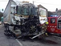 Choque traseiro entre dois camiões condicionou ontem o trânsito no IC3 perto de Penela