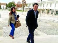 Ex-autarca irritou-se algumas vezes com as perguntas do procurador . FOTO DB/ANTÓNIO ALVES