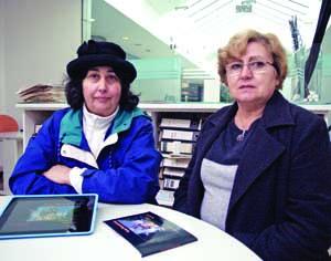 Margarida Medlam e Maria Rosa Anttonen. FOTO DB/JOT'ALVES