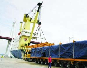Movimento de cargas voltou a crescer este ano e vai ultrapassar os dois milhões de toneladas. FOTO JA