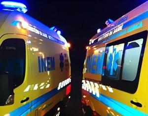 ambulâncias acidente