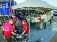 ISEC otimiza carro que compete no Dakar