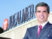 José Alexandre Cunha, CEO Idealmed. FOTO DB/LUÍS CARREGÃ