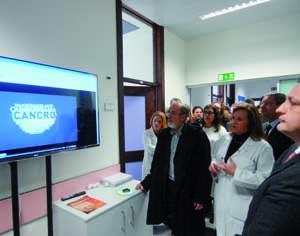 Centro de Oncofertilidade, a funcionar em instalações do Hospital Pediátricio de Coimbra, foi inaugurado a 16 de dezembro pelo ministro da saúde. FOTO DB/CARLOS JORGE MONTEIRO