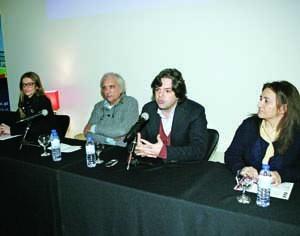 Ana Baptista, José Manuel Pedreirinho, Hélder Bruno Martins e Georgina Morais. FOTO DB/LUÍS CARREGÃ