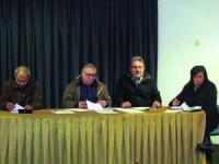 Ercílio Contente, Avelino Pedroso, Jorge Silva e Cristina Figueiredo. FOTO DR