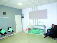 Ana Filipa Santos garante que a loja oferece uma panóplia de atividades para as mães e bebés. FOTO DR
