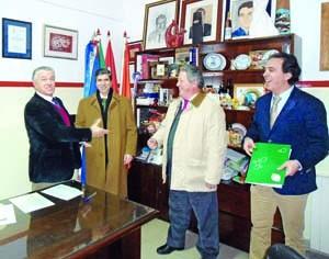 Jaime Ramos (ADFP), Rui Vital, Augusto Carreira e Paulo Silva (CCAM Coimbra). FOTO DR
