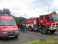 Cinco bombeiros de Castanheira de Pera com ferimentos ligeiros em acidente na serra
