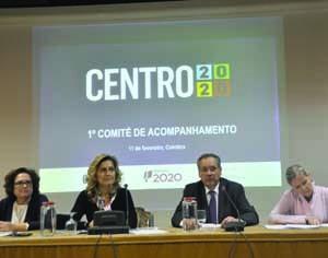 Ana Abrunhosa presidiu à primeira reunião do Comité de Acompanhamento. FOTO DR