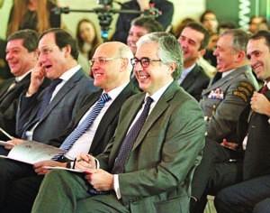 Ministro da Defesa, João Pedro Aguiar-Branco, presidiu à cerimónia