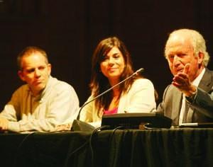 Manuel Rocha, Cristina Oliveira e Ilídio Pinho. FOTO DB/LUÍS CARREGÃ