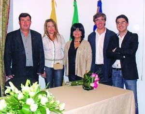 Executivo é liderado por Aidil Machado (ao centro). FOTO DR