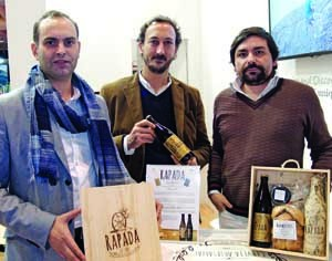Sérgio Cruz, Luís Rosa e Rui Figueiredo são os responsáveis. FOTO DB/BERNARDO NETO PARRA