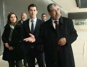 Visita de Manuel Machado ao Centro de Convenções. FOTO DB/LUÍS CARREGÃ