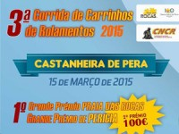 Prova de carrinhos de rolamentos no domingo em Castanheira de Pera