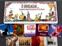 Toda a discografia nos 40 anos da Brigada Victor Jara