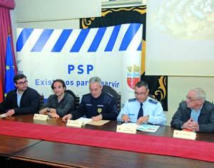 Luís Costa, André Sardet, José António Henriques Fernandes, José Ferreira Brito e José Carlos Queirós. FOTO DB/CARLOS JORGE MONTEIRO
