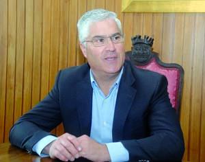 Mário Loureiro, presidente da Câmara de Tábua. FOTO DB/CARLOS JORGE MONTEIRO