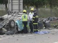 Dois mortos em despiste no IC2 em Leiria