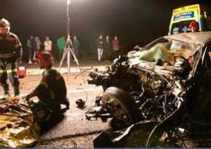 Acidente entre veículos portugueses fez dois mortos em Espanha