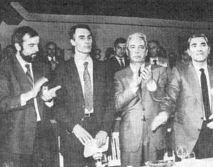 """Há 30 anos, Cavaco Silva """"chegou, viu e venceu"""" na Figueira da Foz"""
