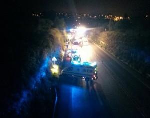 Despiste de Audi em Cernache mata cinco peregrinos de Mortágua