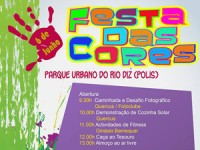 Festa das Cores no Parque Urbano do Rio Diz