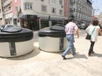 """Contentores do lixo """"afastam"""" clientela do Largo das Ameias"""