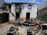 Incêndio deixa família desalojada na Lousã