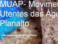 Movimento de Utentes da Águas do Planalto contesta regulamento