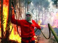 Viatura dos bombeiros de Castelo Branco ardeu em incêndio