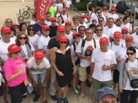 """Forte adesão hoje de manhã à caminhada """"Mais Saúde"""" do DIÁRIO AS BEIRAS/IDEALMED"""