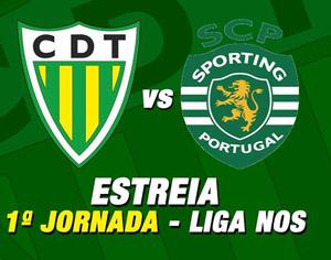 Tondela e Sporting dão hoje o pontapé de saída à Liga NOS 2015/16