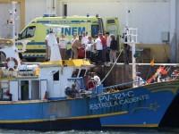 """Mestre da embarcação """"Ruben e Bruna"""" morre em naufrágio na Figueira da Foz"""