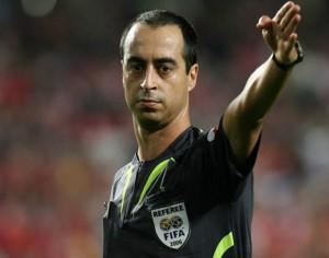 Árbitro Jorge Sousa suspenso por três jogos