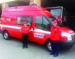 Maria Beatriz nasceu na ambulância dos Bombeiros Voluntários da Mealhada