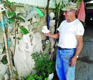 Manuel Marques é um dos poucos canteiros do concelho de Cantanhede