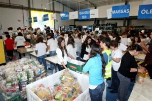Banco Alimentar recolheu 2.270 toneladas de alimentos no fim de semana