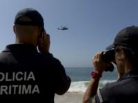 Buscas na praia da Nazaré para encontrar homem desaparecido