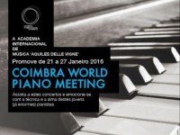 Coimbra World Piano Meeting leva concertos à Figueira da Foz e ao Sardoal