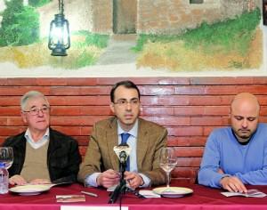 Mário Maduro, Luís Antunes e Carlos Alves (FOTO DR)