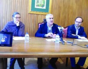 Ana Paula Neves, Mário Loureiro e Ricardo Cruz (FOTO DB/ANTÓNIO ROSADO)