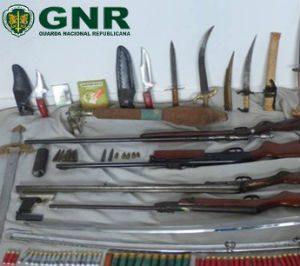 Sexagenário detido   por posse ilegal  de armas na Mealhada