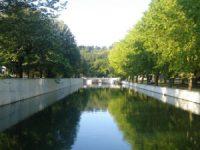Caminhada pelas margens do rio contra a poluição da bacia do Lis