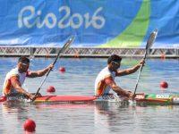 Canoístas portugueses em K2 afastados das medalhas nos Jogos Olímpicos