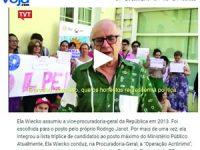Manif anti-Temer na Curia provoca demissão no Brasil
