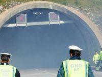 Túnel da Gardunha esteve fechado devido a danos causados por camião