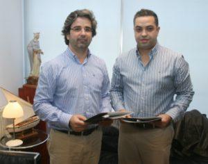 Pedro Costa e Hugo Gonçalves assinaram protocolo